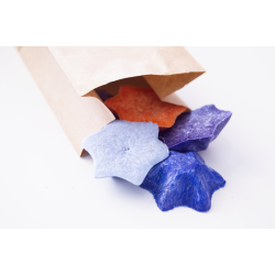 Vonný vosk - hvězda - modrá