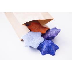 Vonný vosk - hvězda - fialová